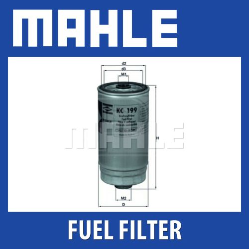 small resolution of details about mahle fuel filter kc199 fits hyundai santa fe trajet genuine part