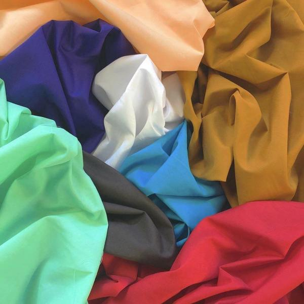 """60"""" Cotton Polyester Broadcloth Fabric Apparel Solid"""