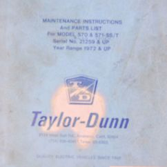 Taylor Dunn B2 48 Wiring Diagram Central Air Service Manual Related Keywords - Long Tail ...