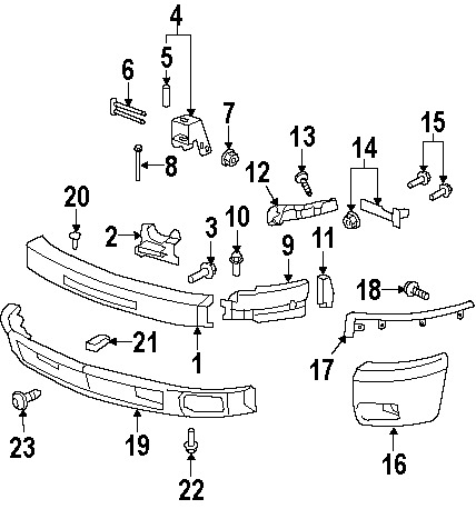 Truck Bumpers Diagram, Truck, Free Engine Image For User