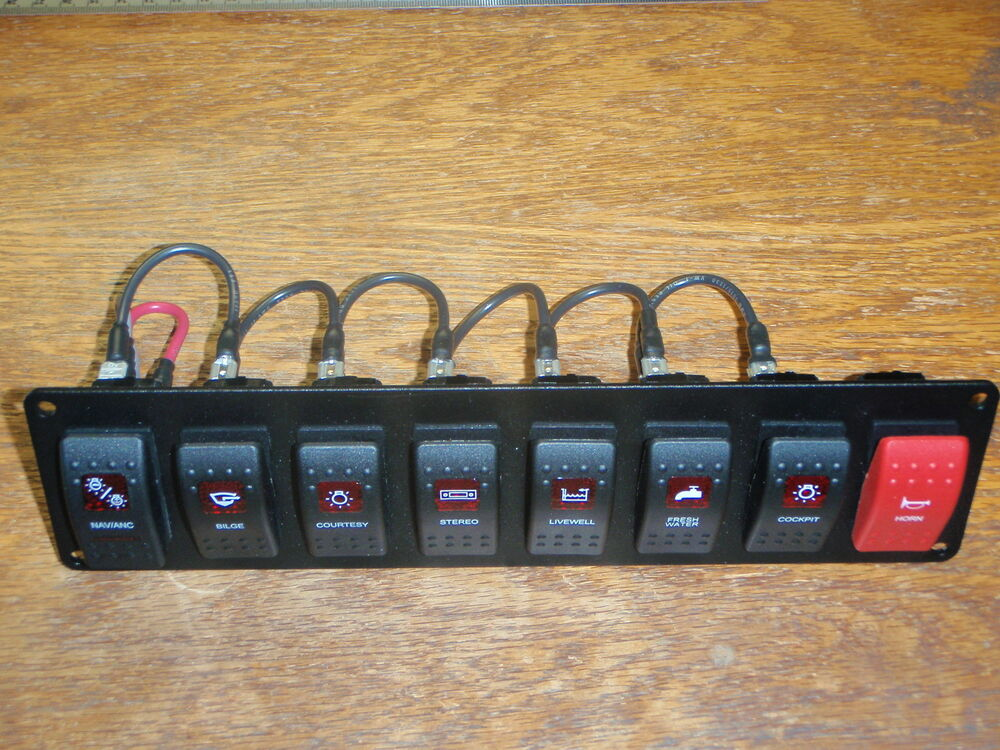 Wiring Marine Switch Panel With Pictures