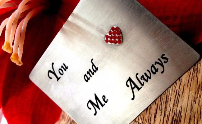 Unusual Gifts For Him Mens Her Wallet Wedding Love