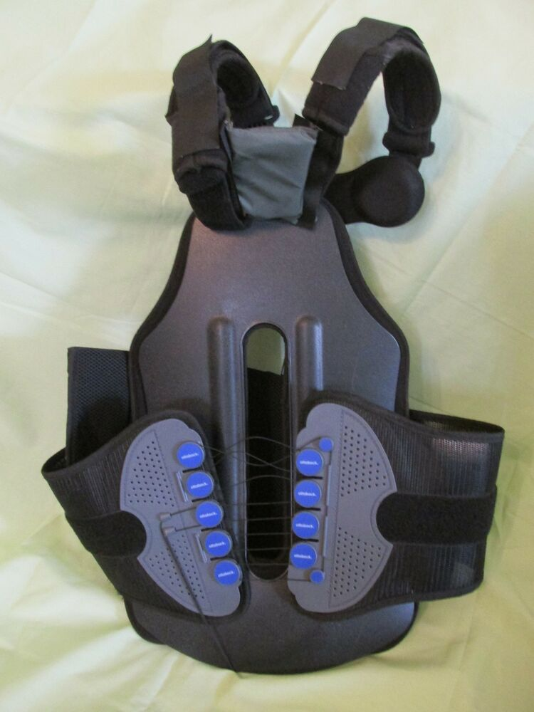 HIGH END OTTO BOCK TSLO BACK BRACE XL RIGHT BLACK GREAT