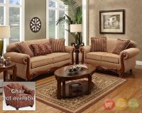 Key West Traditional Sofa & Love Seat Living Room ...