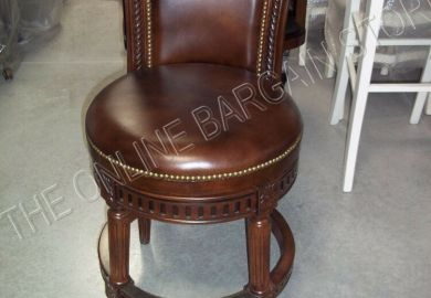 Leather Counter Height Bar Stools Ebay