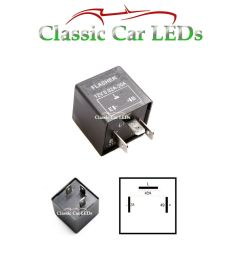 12v electronic indicator flasher relay for classic cars with oe clicking sound ebay [ 945 x 1000 Pixel ]