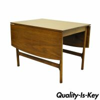 Vintage Mid Century Modern Walnut Drop Leaf Dining Table ...
