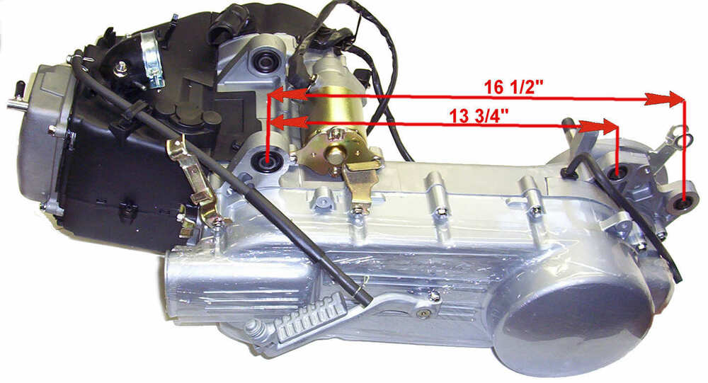 50cc Scooter Engine Diagram