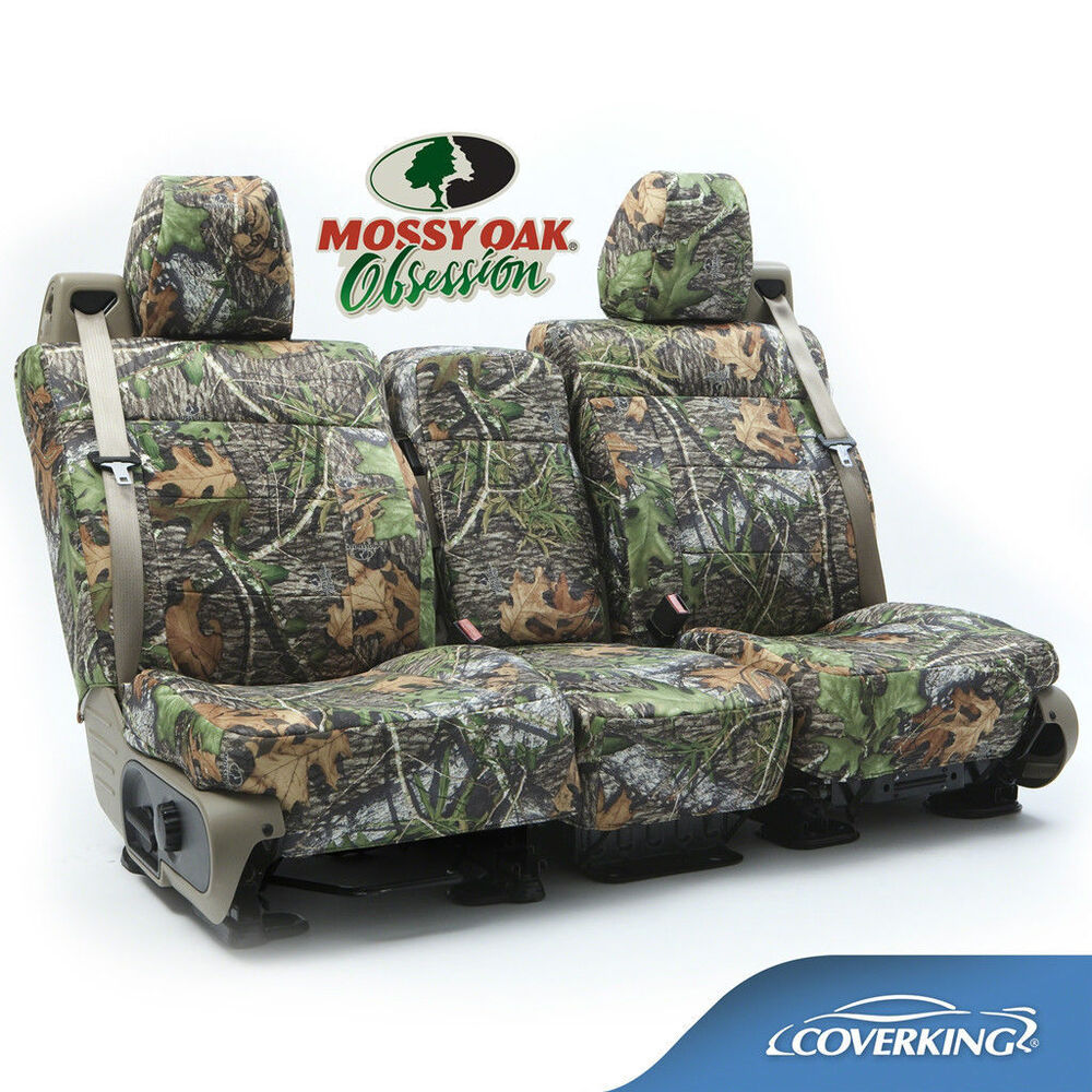 Coverking Neosupreme Mossy Oak Obsession Camo Seat Covers
