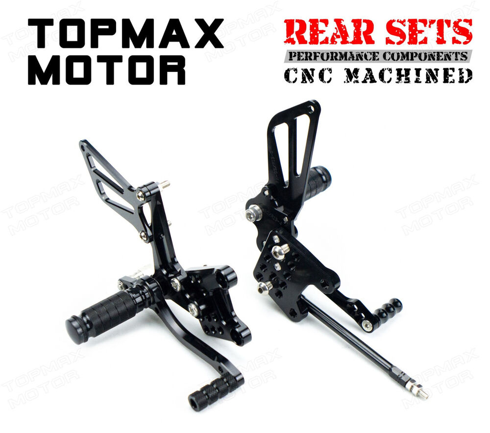 CNC Billet Rearsets Rear Sets For 1996 1997 1998 1999 2000