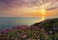 LAND'S END Photo Wallpaper Wall Mural NATURE SUNSET ...