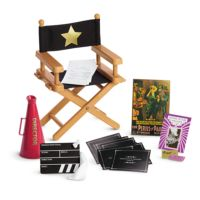 American Girl REBECCA DIRECTOR SET for Dolls Movie Chair ...