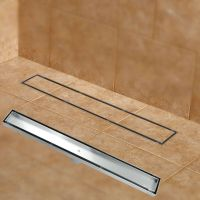 Bathroom Linear Shower Drain Tile Insert Floor Drain