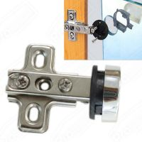 Concealed Hidden Cupboard Cabinet Glass Door Hinges Nickel ...