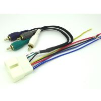 CAR STEREO RADIO REPLACEMENT WIRING HARNESS AMP ...