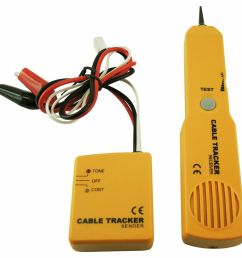 details about cable tracker wire tracer telephone line tester continuity single dual tone test [ 1000 x 1000 Pixel ]