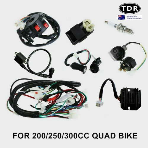 small resolution of all electrics full kit coil cdi harness zongshen loncin 250cc hummer atomik atv 8291985523475 ebay