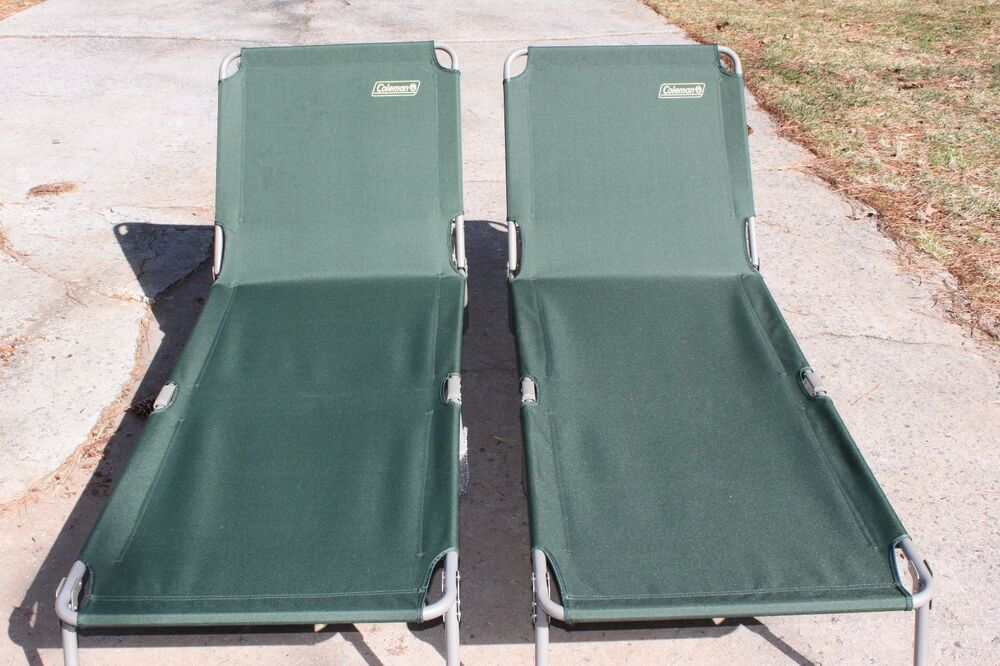 2New Coleman Cots Cot Converta Folding Sleeping Bed