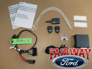 14 thru 17 Fusion OEM Genuine Ford Parts Remote Start & Security System Kit NEW | eBay