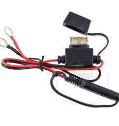 motorcycle battery terminal ring connector harness 12 volt [ 1000 x 1000 Pixel ]