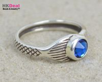 H2O Just Add Water Mako Mermaid Tail Ring Sterling Silver