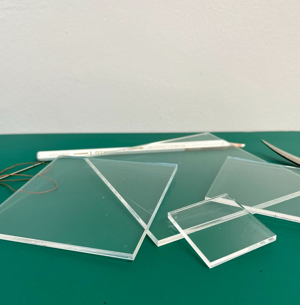 New PatchWork Square Templates 3mm Clear Acrylic 1 1/2