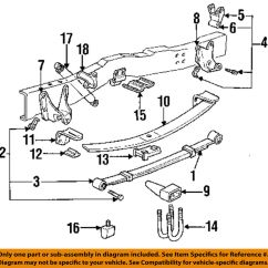 1995 Ford F150 Front Suspension Diagram Epiphone Sg Wiring F 150 Best Library Oem 92 96 Rear Spring Assembly 2wd