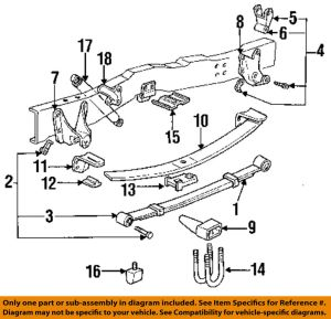 FORD OEM 9296 F150 Rear SuspensionSpring Assembly