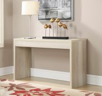 Contemporary Console Table Sofa Wood Hallway Accent ...