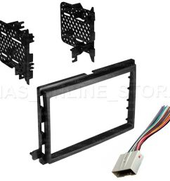 details about double din stereo install dash kit w wire harness for ford lincoln mercury cars [ 1000 x 950 Pixel ]