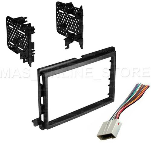 small resolution of details about double din stereo install dash kit w wire harness for ford lincoln mercury cars