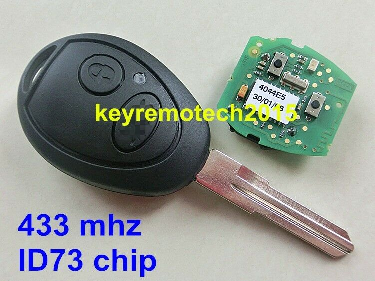 Mini Cooper S R50 R53 2 Buttons Keyless Ignition Remote 2016 Car