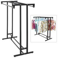 Clothes Rack Garment Rod Hanger Stand Closet Storage ...