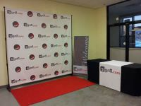 Step and Repeat Red Carpet Backdrop Banner 6'W x 8'H | eBay