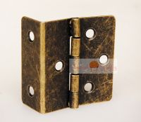 Classic Furniture Hardware three trilateral hinges for