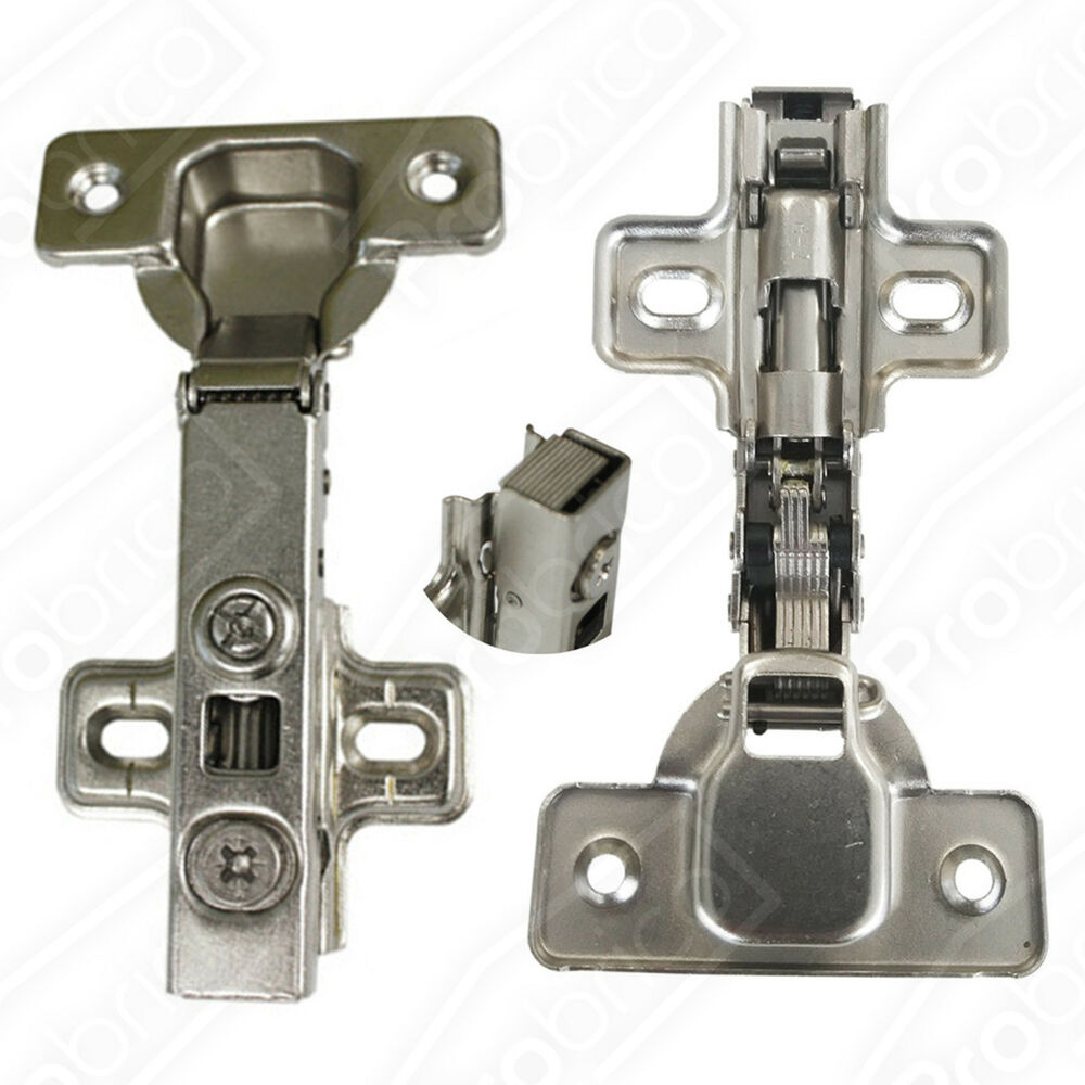 Concealed Kitchen Cabinet Door Hinges Full Overlay Soft Close Self Closing 5pair  eBay