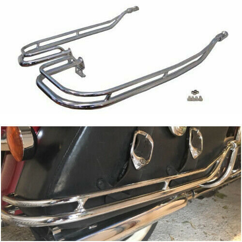 Nostalgic Saddlebag Guard Rails for 2009 Harley Davidson