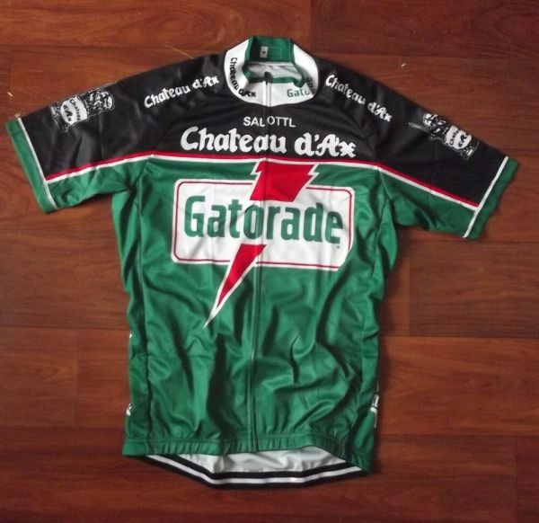 Brand Team Gatorade Chateau 'ax Moser Cycling Jersey
