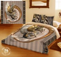 STEAMPUNK DRAGON - Duvet Cover Set for DOUBLE BED artwork ...