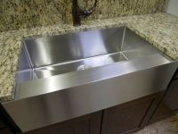 "30"" Stainless Steel Farmhouse Front Apron Single Bowl ..."