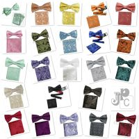 New Men's Bow Tie Paisley Pre-tied Colors Bowtie And ...