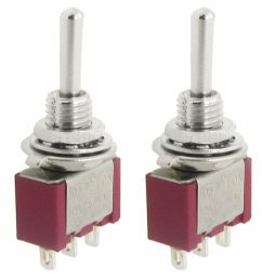 2 pcs ac spdt on off on 3 position momentary toggle switch [ 1000 x 1000 Pixel ]
