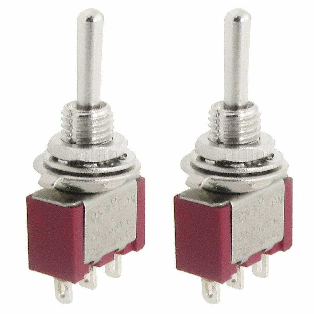 medium resolution of 2 pcs ac spdt on off on 3 position momentary toggle switch