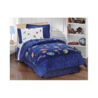 Twin Size Comforter Set Boys Girls Outer Space Theme ...