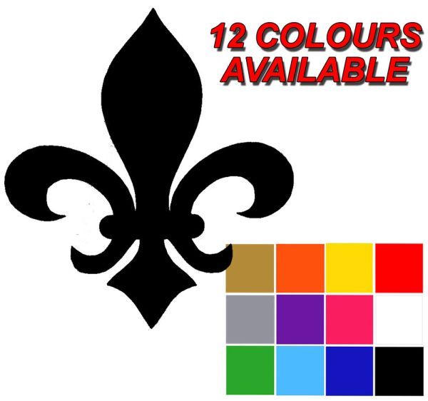 Fleur De Lys Stickers X 25 Decal. Wall Tile Stickers. Adhesive