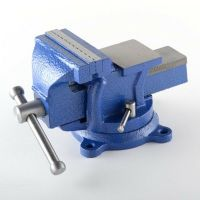 "4"" Bench Vise w/ Anvil Swivel Locking Base Tabletop Clamp ..."