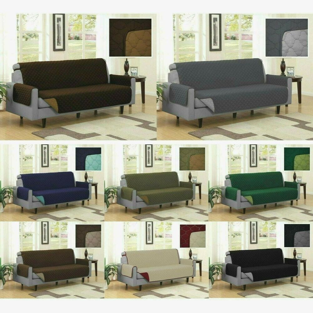 grey 3 seater sofa throw ballard designs sectional reversible microfiber pet couch furniture protector ...