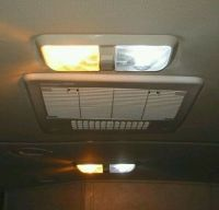 2 Bright White LED 12V Interior Lights RV Camper Motorhome