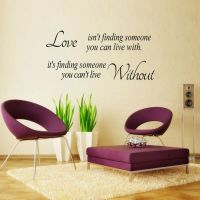 Quote Word Decal Vinyl DIY Home Room Decor Art Wall ...
