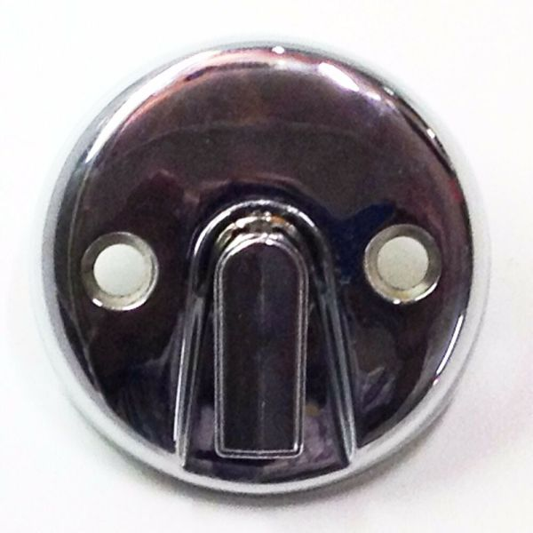 Tub Trip Lever Overflow Face Plate Chrome